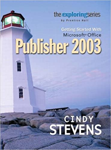 Exploring Getting Started with Microsoft Publisher 2003