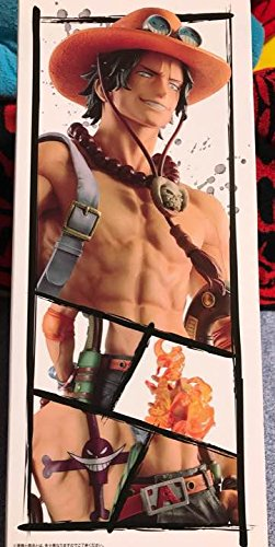 Banpresto One Piece Abilities of demonic fruits Ace Big Figure Lottery Ichiban-Kuji A Award