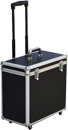 Aluminio Caja De Herramientas Portátil Con Equipo Universal Para Instrumentos De Ruedas Maleta De Transporte Con Cerradura De Seguridad, Multifunción Vuelo Funda De Transporte: Amazon.es: Hogar