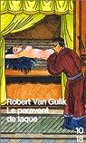 Le paravent de laque par Van Gulik