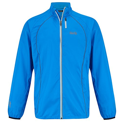 Cal Mens Jackets (Time To Run Men's Windproof Running Jacket X Large 44