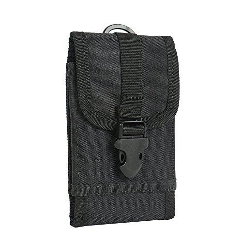 bolsa del cinturón / funda para ACER Liquid E2, negro + Auriculares | caja del teléfono cubierta protectora bolso - K-S-Trade (TM)