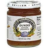 Keiller-Dundee Ginger Preserve, 12 Ounce -- 6 per case.