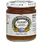 Keiller-Dundee Ginger Preserve, 12 Ounce -- 6 per case.
