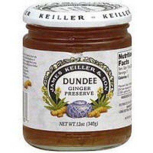 Keiller-Dundee Ginger Preserve, 12 Ounce - 6 per case.