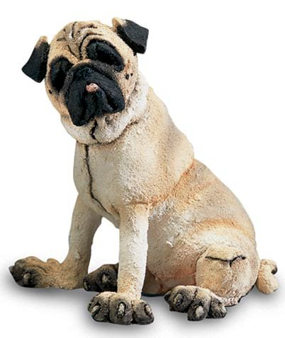 Retired Country Artists -Pug - Mini - AB70319 - A Breed Apart