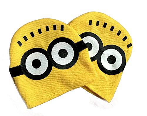Tokyo-H Minion Kids Knit Cap Cosplay Yellow - Birthday Tokyo
