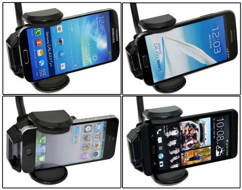 Case Tasche H/ülle Halter Autohalterung // geeignet auch mit Bumper GRATIS KFZ LADEKABEL Fairphone 2 // Universal KFZ PKW Auto Halterung // 360/° drehbar