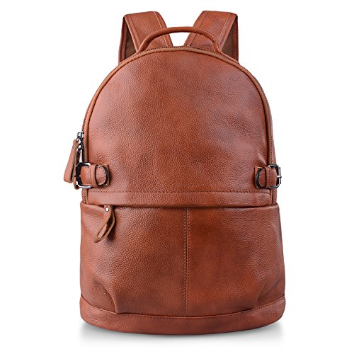 AB Earth Women Genuine Cow Leather Casual Daily Backpack Handbag, M752