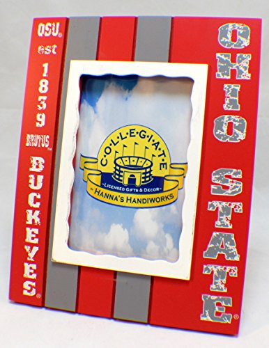 Ohio State Buckeyes Collegiate Licensed Wooden Photo Picture Frame 4