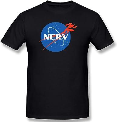 Neon Genesis Evangelion logo anime and manga mens T shirt