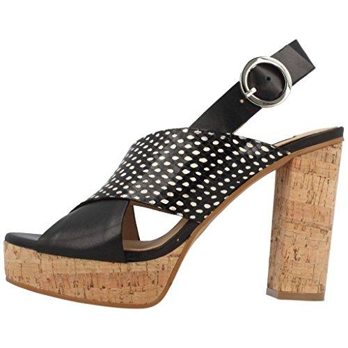 Sandalias y chanclas para mujer, color Negro , marca ZINDA, modelo Sandalias Y Chanclas Para Mujer ZINDA CHESTER Negro Negro