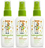 Babyganics Natural Insect Repellent 2 oz (Pack of 3)