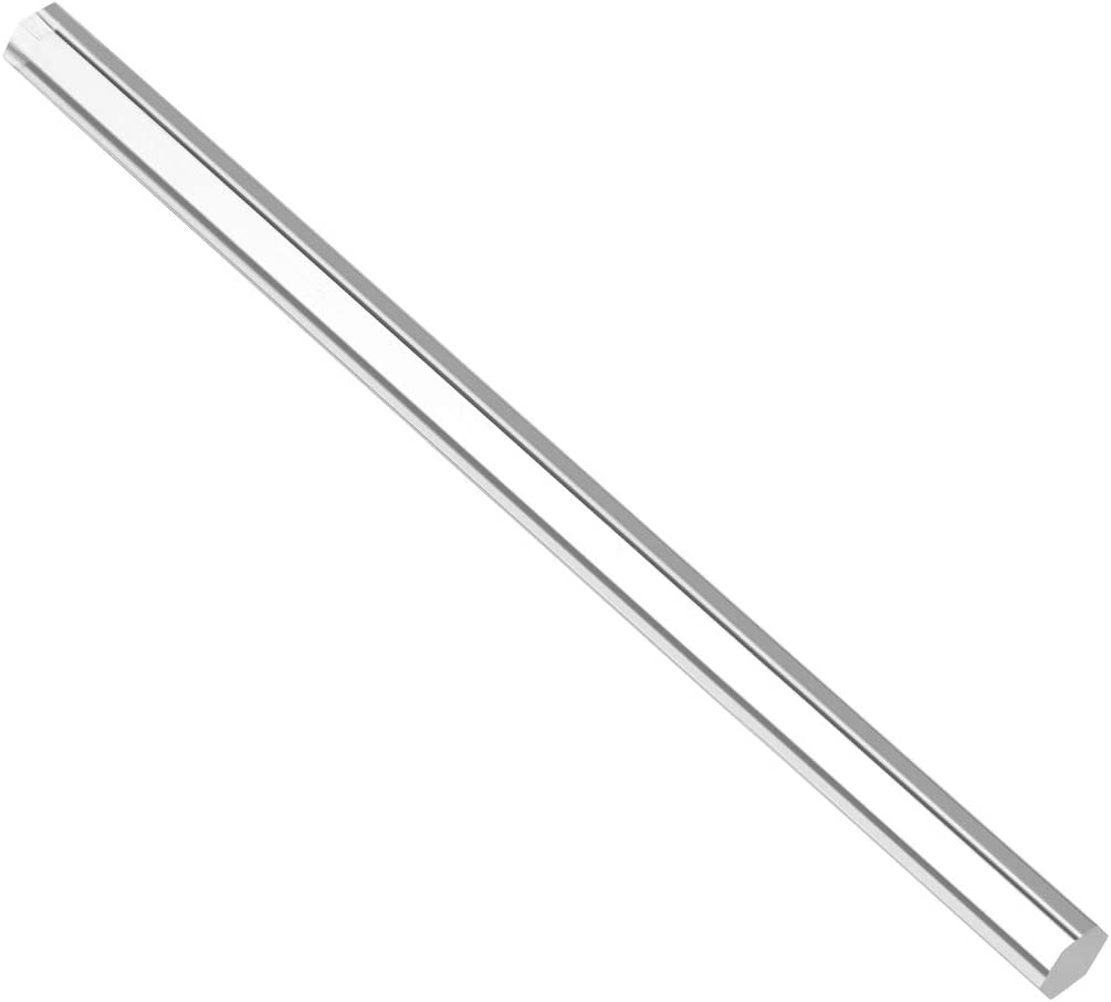 uxcell Acrylic Hexagon Shape Solid PMMA Bar Acrylic Rod Clear 12mm X 250mm