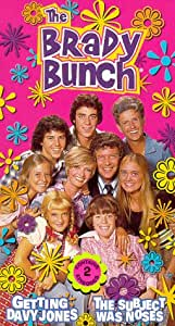 The Brady Bunch - Getting Davy Jones / The Subject Was Noses [VHS]