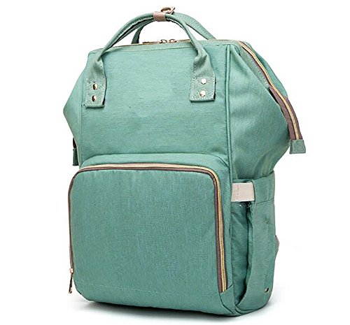 Diaper Bag Backpack, Waterproof Large Capacity Features Stylish Durable Travel Backpack by Yuanyang