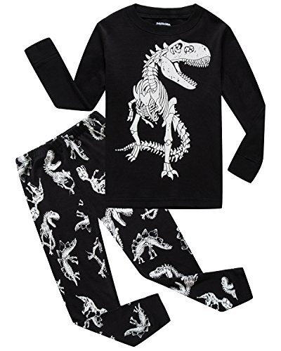 Little Pajamas Boys Pajamas Dinosaur 100% Cotton Toddler Clothes Kids PJS Children Sleepwear Shirts