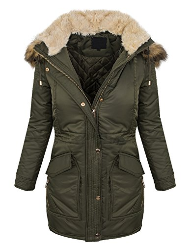 Selection Maniche Giacca Creek Lunghe Cachi Donna Parka Rock qROS5wHC