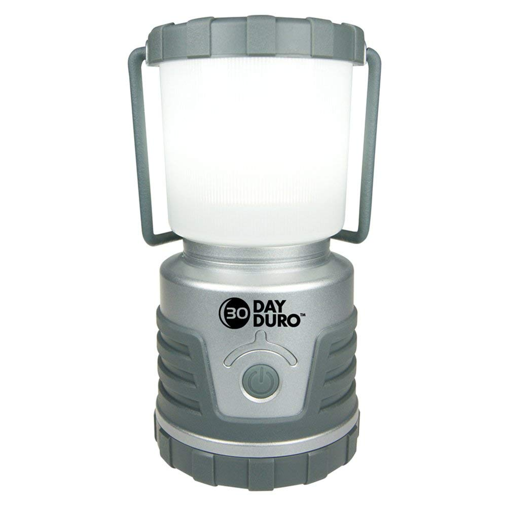 UST 30-Day Duro LED Portable 700 Lumen Lantern with Lifetime LED Bulbs and Hook for Camping Emergency and Outdoor Survival Hiking