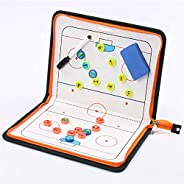 Magnetic Ice Hockey Tactic Board, Coach Referee Game Training Tactic Board, Erasable Athlete Training Game Sup