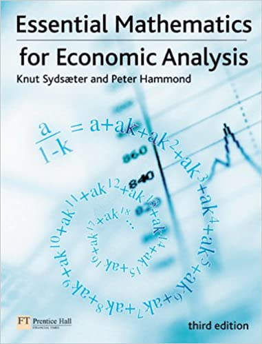 Mathematics For Economic Analysis Pdf