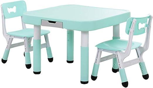 Conjunto mesa y silla Mesas Y Sillas De Estudio para NiñOs, Mesas ...