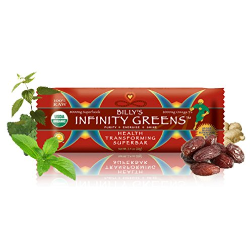 Infinity Greens Bar (2.4oz) by Billy's Infinity Greens (12)
