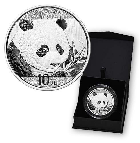 2019 CN 30 gram Silver Chinese Panda 10 Yuan Brilliant Uncirculated