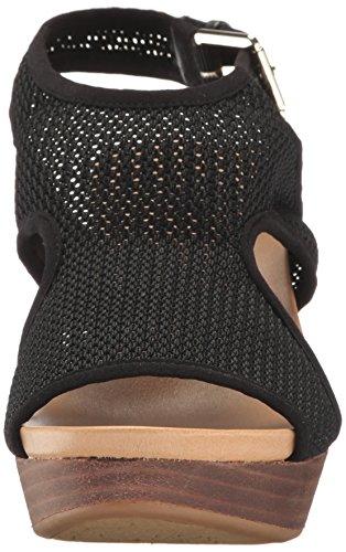 Dr. Dr. Scholl's Kvinders Meaning Wedge Sandal Sort Luna Knit Scholl Kvinders Betydning Kile Sandal Sort Luna Strik VoOrUOxL