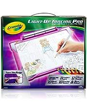 CRAYOLA 04-0908 Light Up Tracing Pad Light Board, Pink, Multi