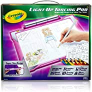 Crayola Light Up Tracing Pad Pink, Toys for Kids, Gift for Girls & Boys, Ag