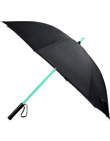 Vicloon Paraguas de Golf/Mágico Paraguas/Paraguas Plegable Automático/ Paraguas Invertido de Doble
