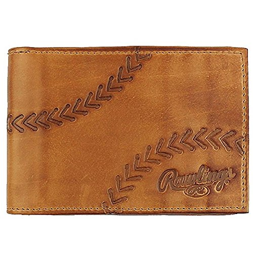 Rawlings Line Drive Front Pocket Wallet (Tan)