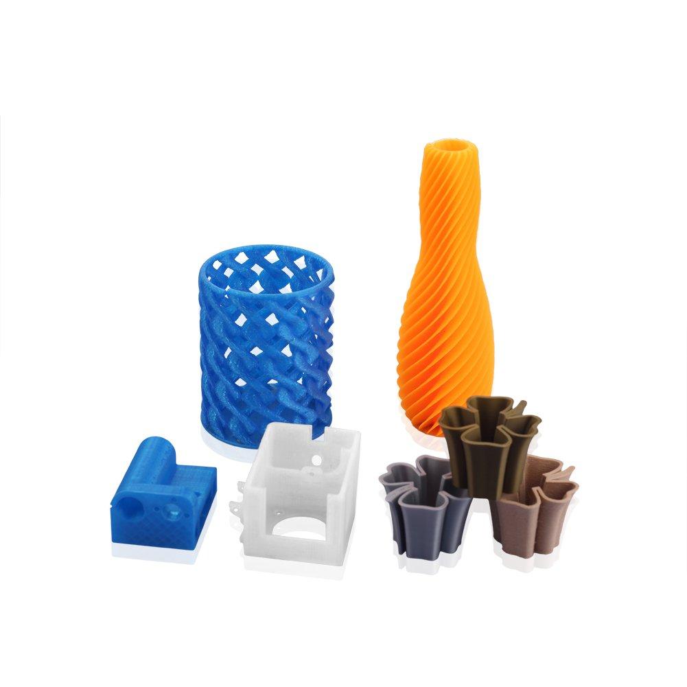 1Kg PLA 1,75mm 3D Printer Filamento Spool 3D Materiale di stampa per stampanti marrone