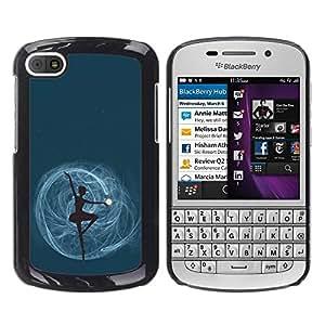 Dragon Case - FOR BlackBerry Q10 - never say no - Caja protectora de pl??stico duro de la cubierta Dise?¡Ào Slim Fit