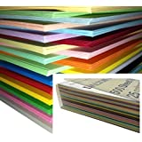 DALTON Manor A5 de color Papel 500 Sábana Paquete color transparente reutilizable Weston Caja Almacenaje