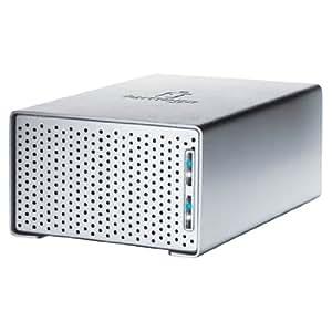 Iomega UltraMax Plus Desktop Hard Drive 4.0TB - Disco duro externo (4096 GB, 7200 RPM, Serial ATA II, 0, 1, JBOD, 128 mm, 200 mm) Plata