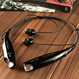 Bluetooth Headphones, SQDeal Wireless Neckband Bluetooth Headset V4.0 Stereo Noise Cancelling Sweatproof Sports Earbuds with Mic