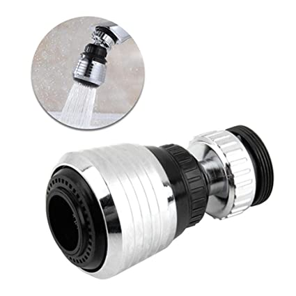 Amazon.com: Hamkaw Faucet Aerator, 360 Degree Rotate Kitchen ...