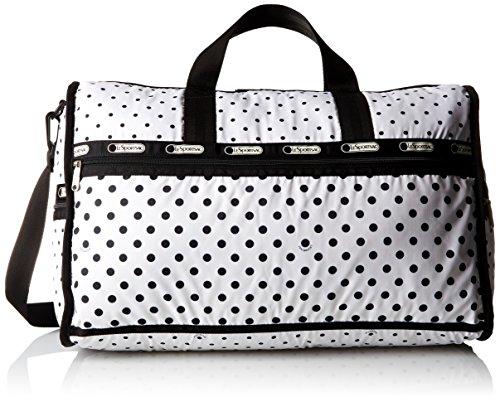 LeSportsac Large Weekender Bag, Sun/Multi/Cream, One Size (Weekender Lesportsac Small)