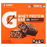 Gatorade Recover Bar, 20 Grams of Protein, Chocolate Chip (Pack of 24)
