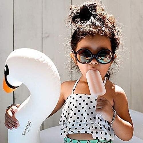Polka Mermaid Strap Top Toddler Kids Girl Bathingsuit Short Bottoms Swimwear