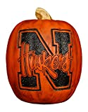 Cumberland Designs Nebraska Resin Pumpkin Decor, Small