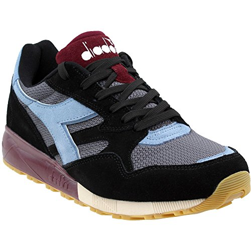 Diadora Unisex N902 S Black 11.5 Women / 10 Men M US
