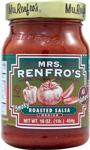Mrs. Renfros Gourmet Salsas Roasted Salsa -- 16 oz ...