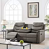 Pannow Double Recliner Loveseat with Console