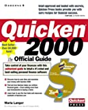 img - for Quicken 2000: The Official Guide (Quicken Press) book / textbook / text book