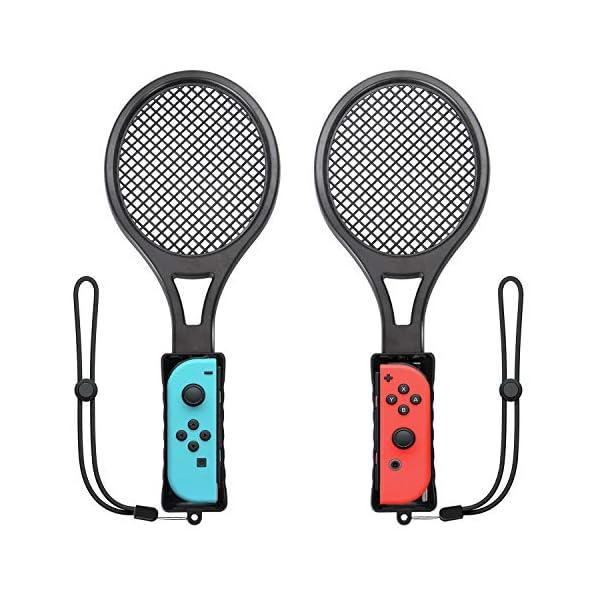 Switch Tennis Racket for Mario Tennis Aces, Game Accessories Nintendo Joy-Con Controller...