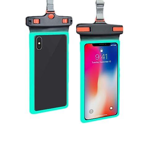 Bolsa impermeable Luminoso for el teléfono móvil Cubierta de ...
