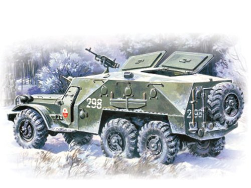 ICM Models BTR-152K Armored Personnel Carrier Building Kit (Armored Personnel Carrier Kit)